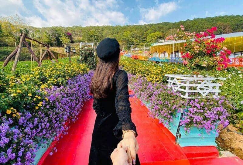 địa điểm du lịch Vườn Thượng Uyển Bay Đà Lạt