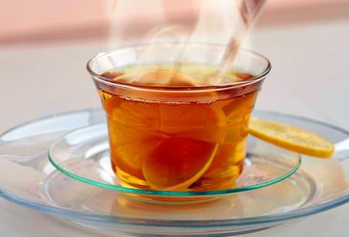 Pha mật ong với nước sôi