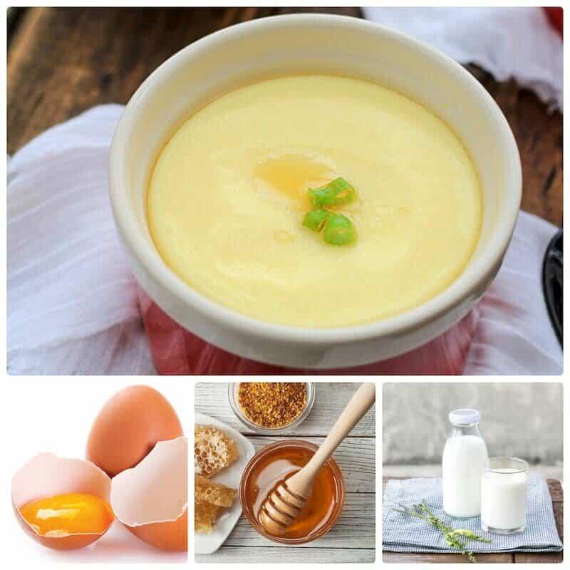 ăn trứng gà mật ong sữa đặc tăng vòng 1