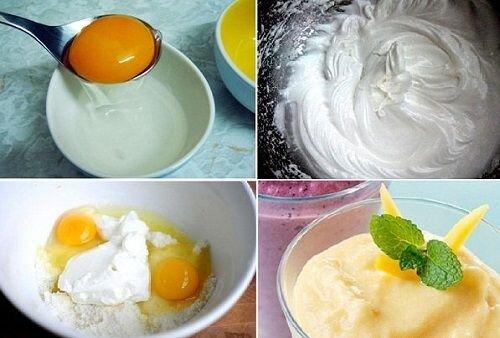 cách đánh kem trứng gà với mật ong