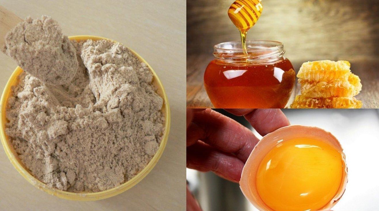 cách làm trắng da từ trứng gà và mật ong