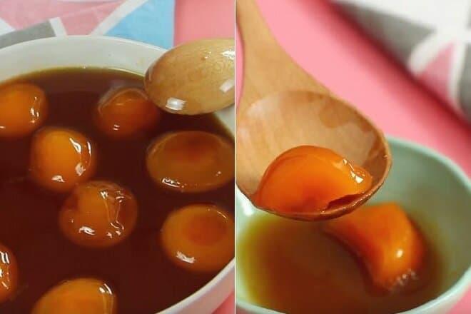 Cách làm trứng gà mật ong tam thất