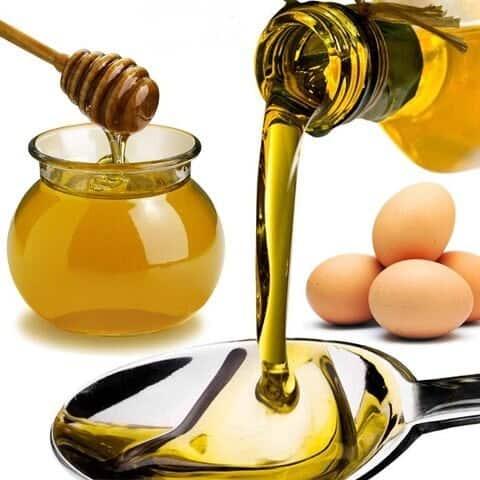 cách trị mụn bằng trứng gà và mật ong