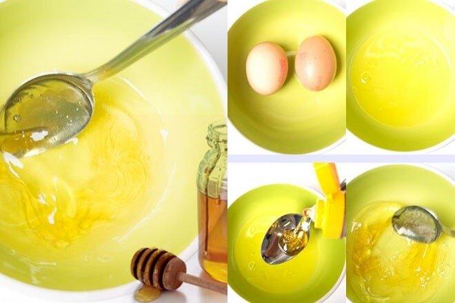 Trị tàn nhang bằng mật ong trứng gà dầu oliu