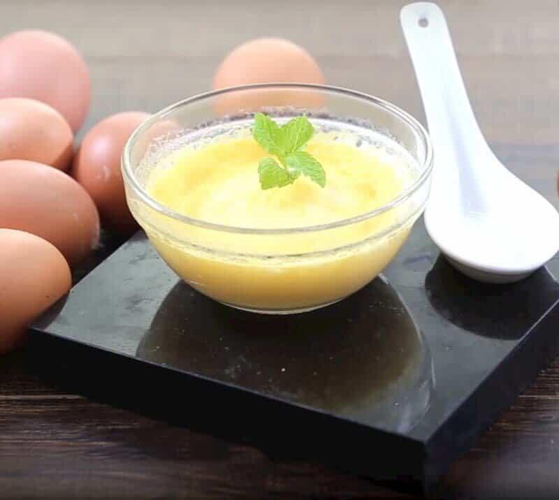 trứng gà mật ong sữa đặc