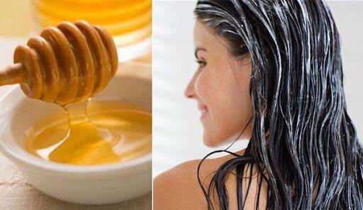 ủ tóc bằng mật ong và trứng gà